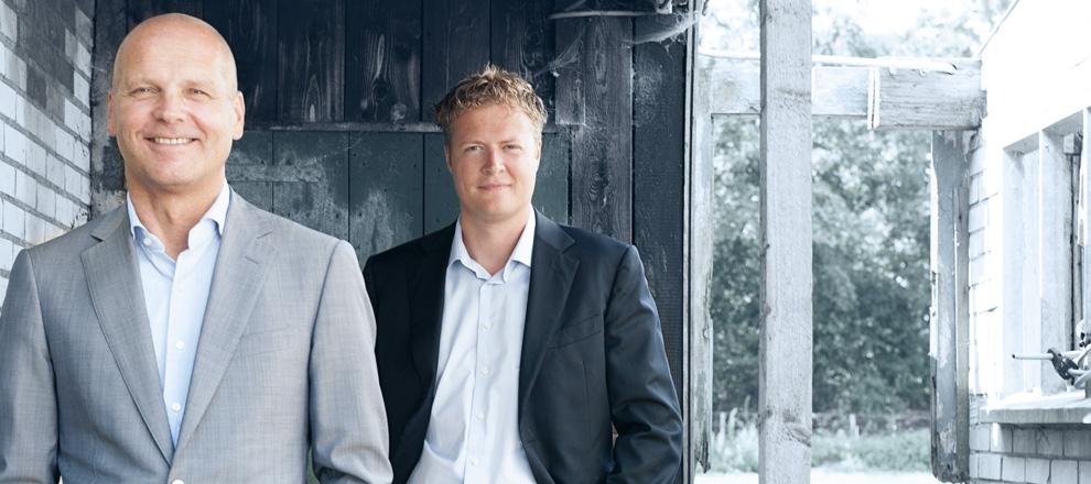 Foto aankoopmakelaars Cees Bond en Rob Schilder (RC Makelaars)